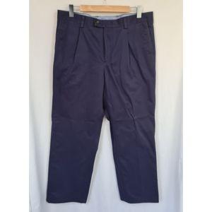 Men's Charles Tyrwhitt pants navy chinos size 36